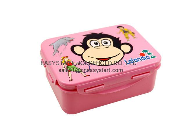 New plastic kids lunch box