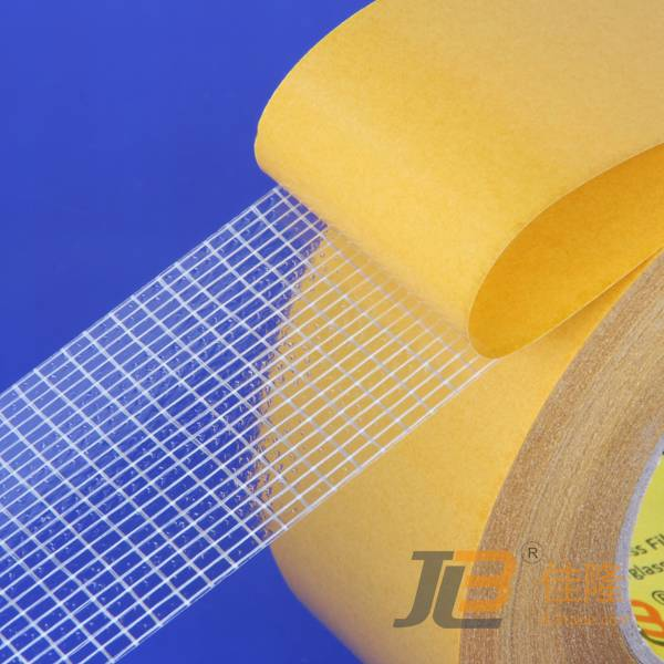 JLW-323 Backed with glassine paper and reinforced with glass fiber. It's reinforced bi-directional d
