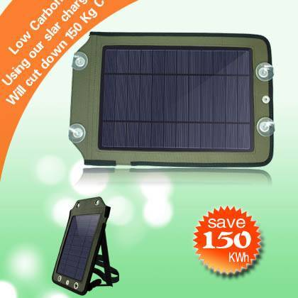 YG-050 solar panel charger Provides Power to Mobile Phone, Digital Products, MP3, and MP4,PSP/GPS