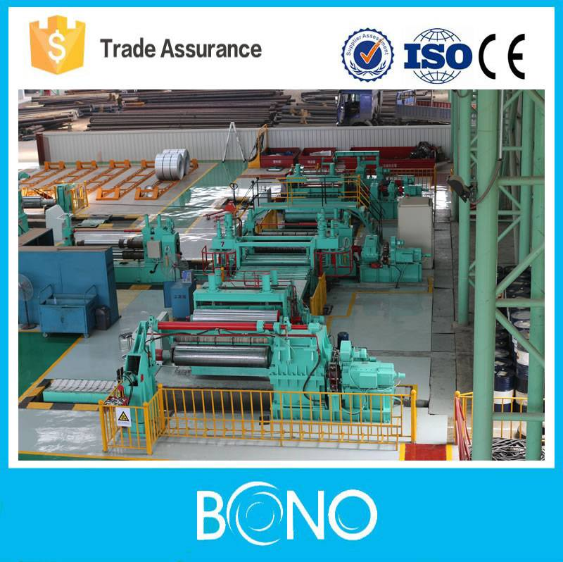 High efficiency Stainless steel Coil Slitting Machine Line