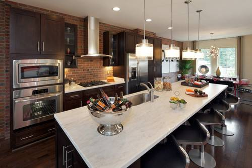 natural granite kitchen countertop