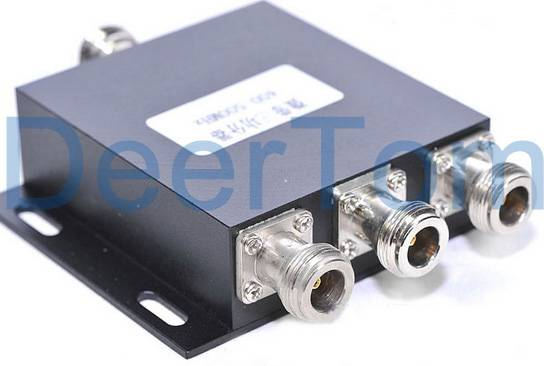 800-2500MHz 698-2700MHz 3 Ways Power Splitter N Female Connector