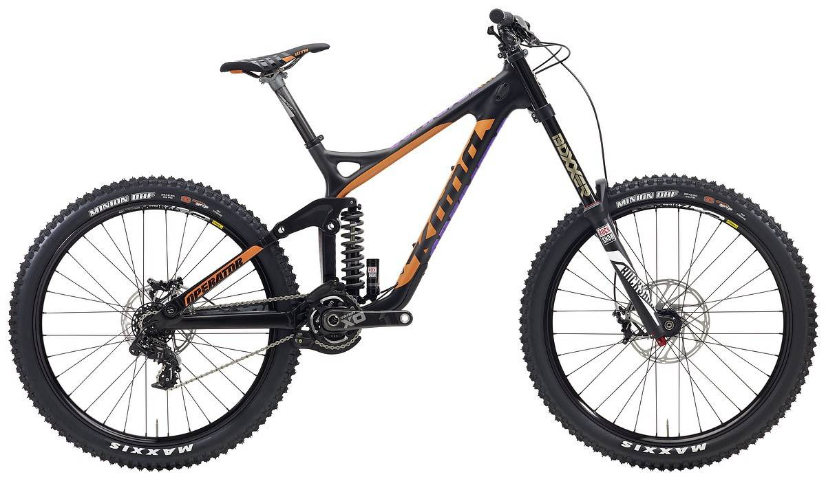 Kona Supreme Operator Mountain Bike 2015 - Full Suspension MTB