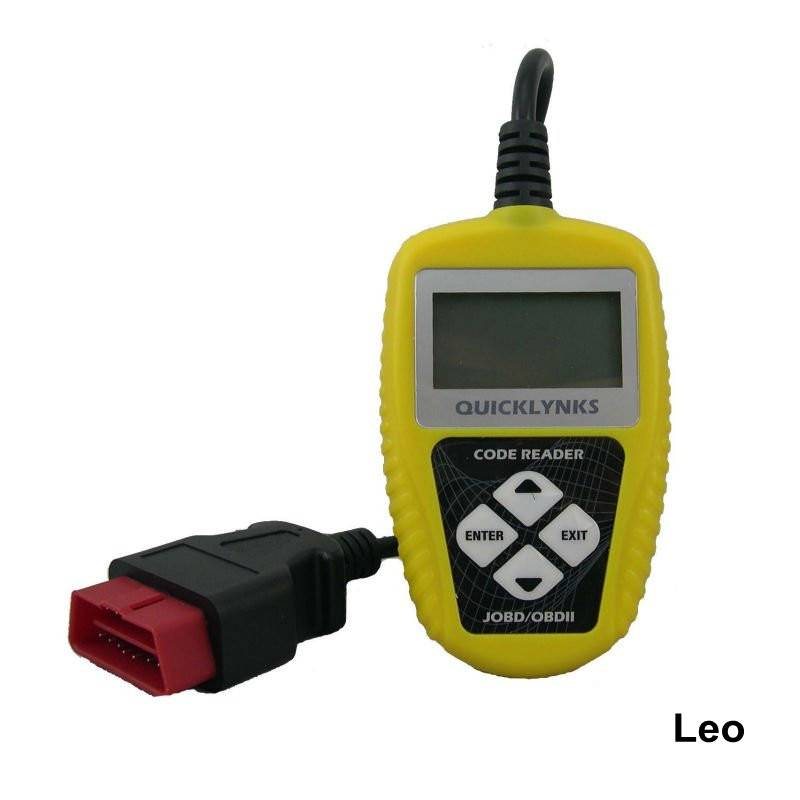Made in China LCD Screen JOBD/OBDII Motor Code Reader T46