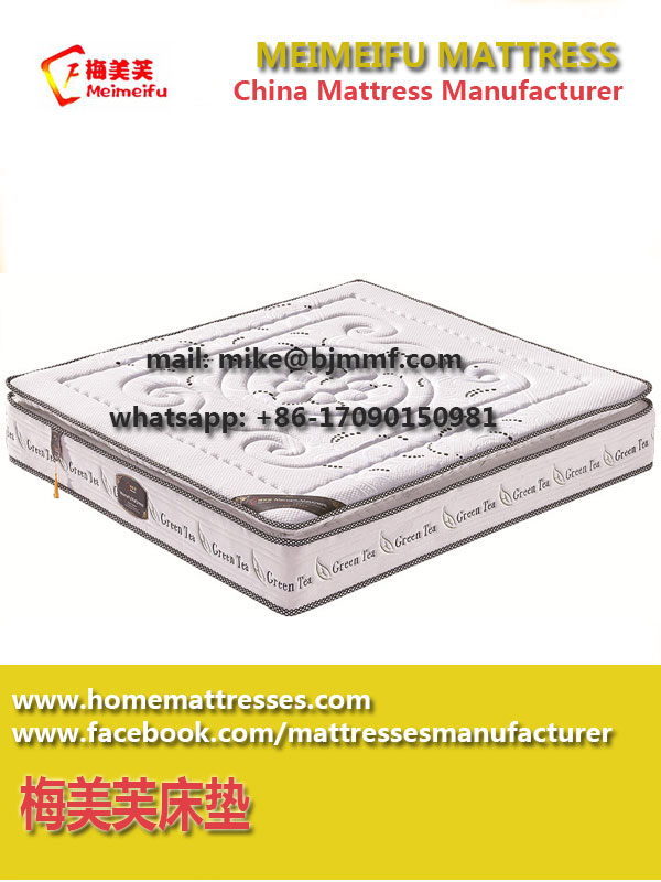 Comfort Memory Foam Pocket Spring Mattress