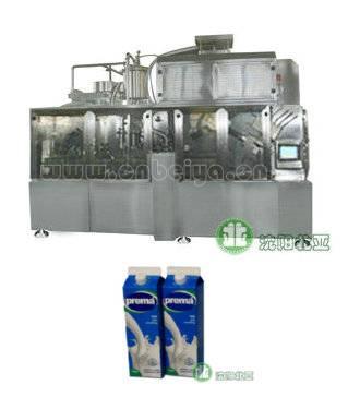 Milk and yogurt filling Machine (BW-2500A)