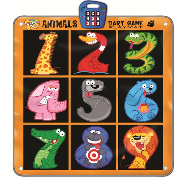 Animals Dart Game Mat