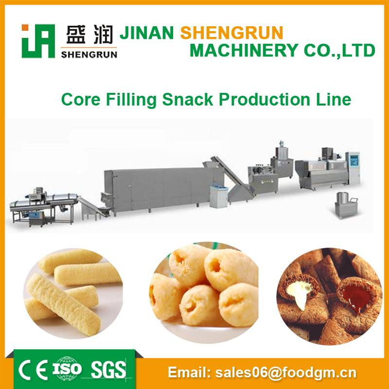 CE certificate tasty puffed corn food extrusion machine
