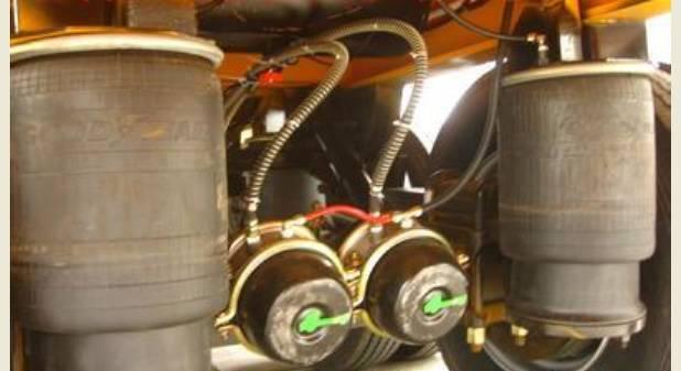 semi-trailer air ride suspension