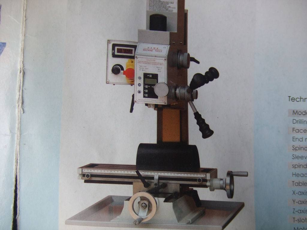 drilling and milling machine FD-16/20
