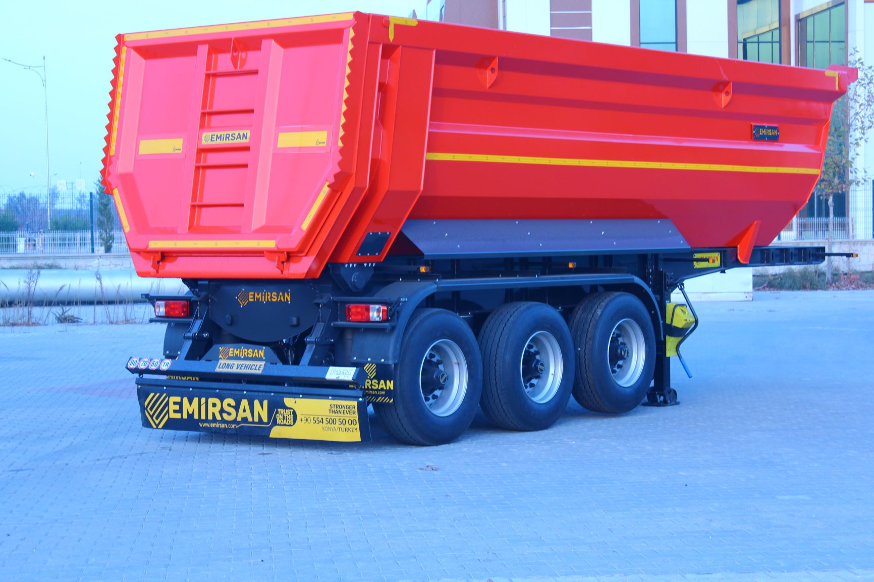 New Emirsan Brand (Tipping)Tipper Trailer