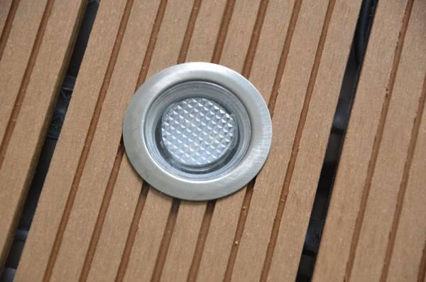 led deck light 0.3w per light