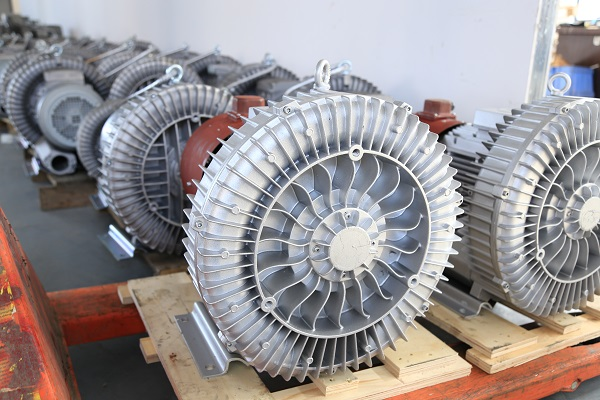 The centrifugal fan