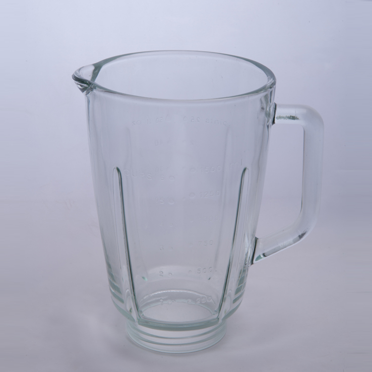 VASO DE VIDRIO PARA LICUADORA hot sales 1.5L national blender spare parts replacement glass jar