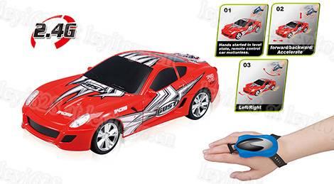 2.4G 1: 16 Scale 4WD R/C Car, Plastic Toy