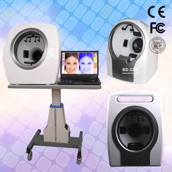 Professional Skin Analysis system---Tri-Spectrum magic mirror
