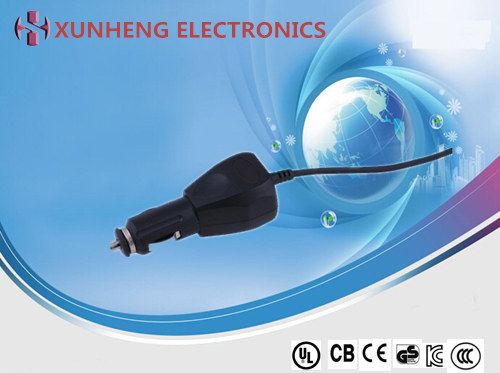 36W OEM/ODM customized design car charger, USB output type or power cord output type