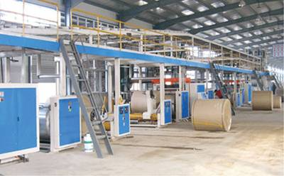 TSH Series Corrugated Cardboard Production Line