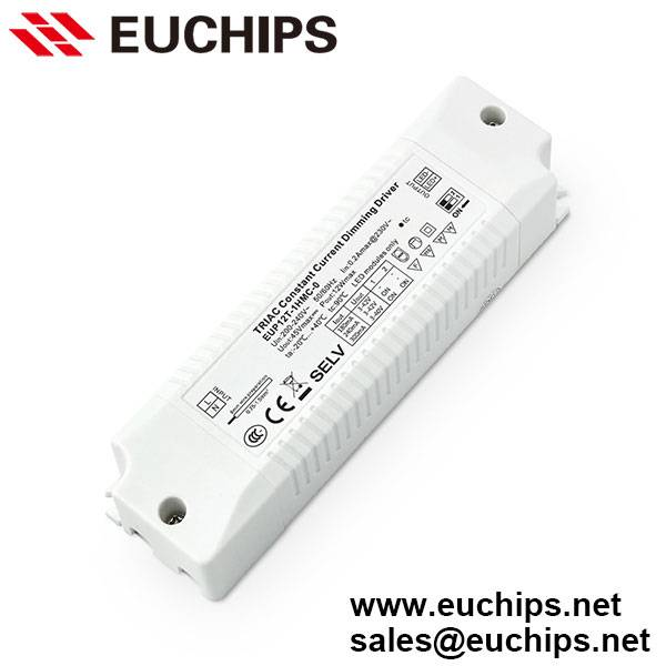 180/240/300mA 1 channel 12W constant current triac LED dimmable driver EUP12T-1HMC-0
