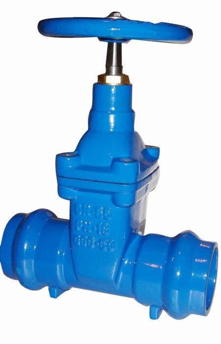Cast iron gate valve,Socket end