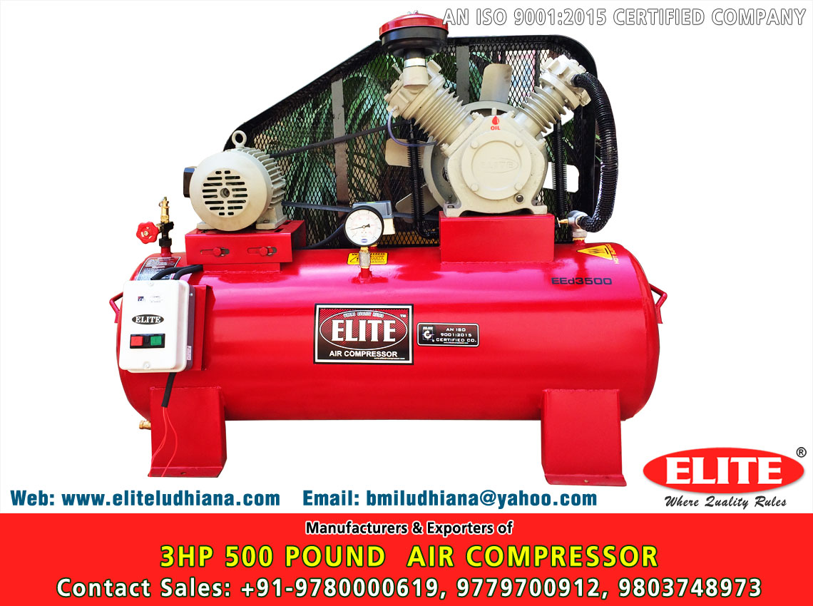 3HP 500 Pound Air Compressor