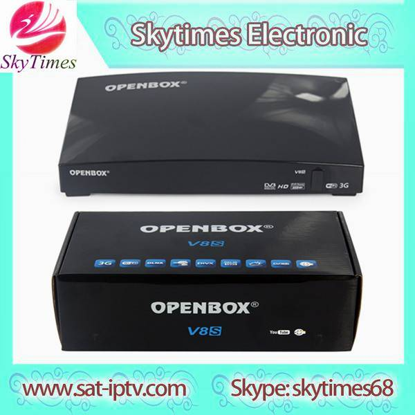 Genuine Openbox V8S Full HD Satellite Receiver