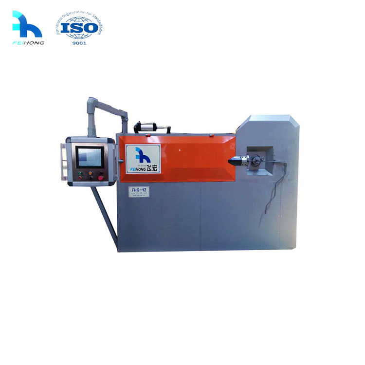 Automated round rebar bender steel bar stirrup bending machine