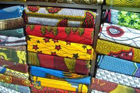 African George Wrapper Fabric Real Wax African Print Material rw3202408