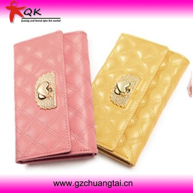 New Style Fashionable Ladies Short Top Grade Of Leather Wallet