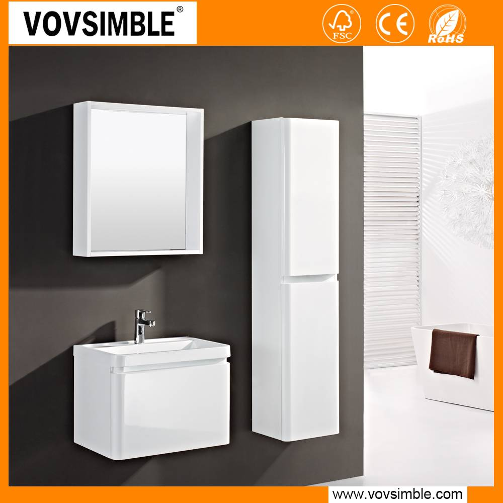 simble modern mdf bathroom cabinet