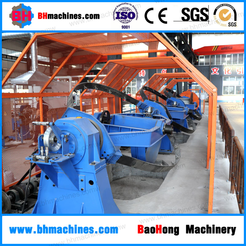 Competitive price cable stranding machine / Automatic Skip Type cable Stranding Machine
