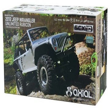 Axial SCX10 '12 Jeep Rubicon Unlimited 1/10 RTR 4WD Rock Crawler AX90028
