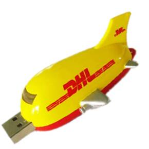 Airplane USB pen in plastic and flash drive aeroplane usb stick 8GB factory of china cheap pen drive