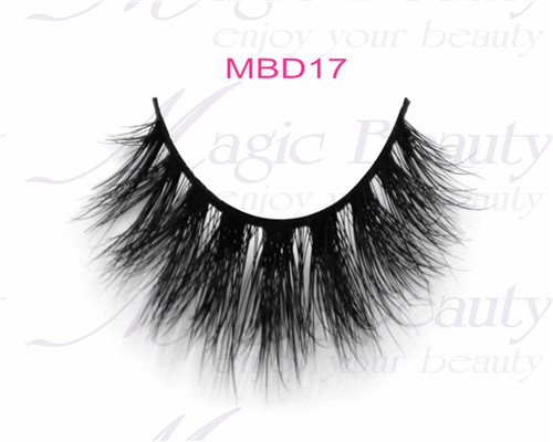 Private Label Popular Siberian Lashes 3D Mink Lashes Mbd17
