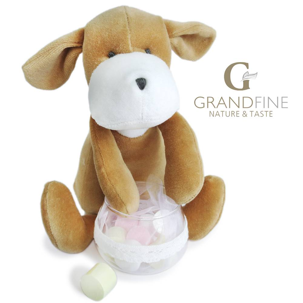 Chinese national dolls cute velvet dog doll stuffing toys baby toys with EN71 test report and CE mar