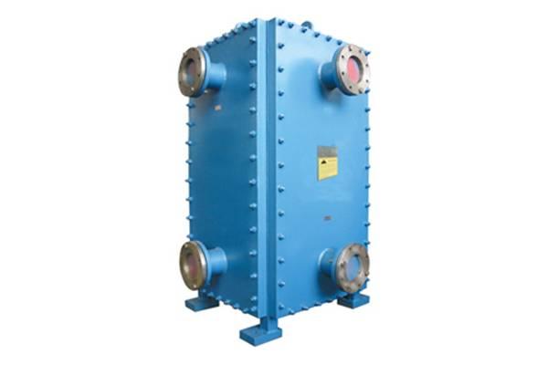 Accessen all welded bloc heat exchanger