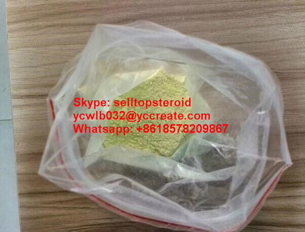 2, 4-Dinitrophenol Bulking Cycle Steroids Powder Yellow for Fat Loss With 99% Purity