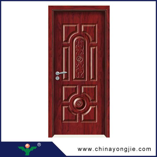 Modern house interior doors design wooden door vents Quality Assured