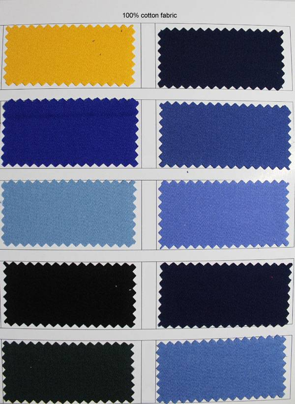 poly/coton workwear fabric for clothing from China