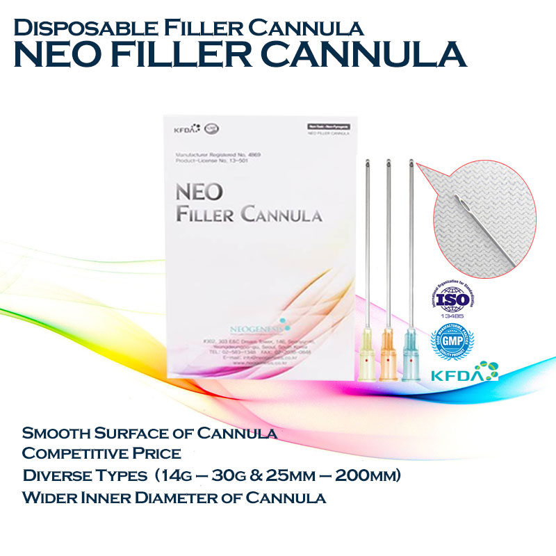 Neo Filler Cannula