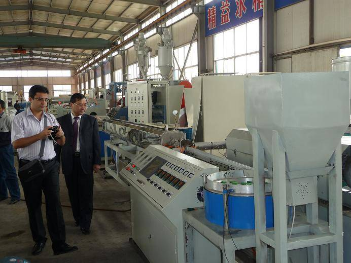internal inlay drip irrigation tube machine