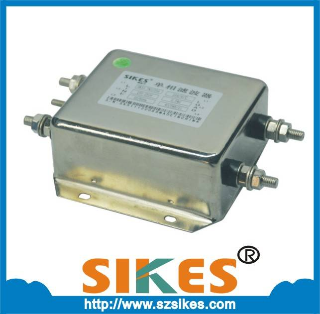 Low pass single phase noise line emi filter