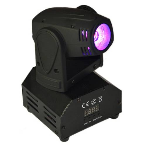 MINI LED Beam Moving Head Light with 1X15W RGBW LED
