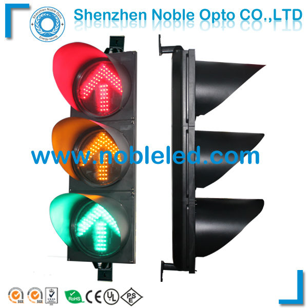 300mm 3 aspects led arrow traffic signal lights on sale