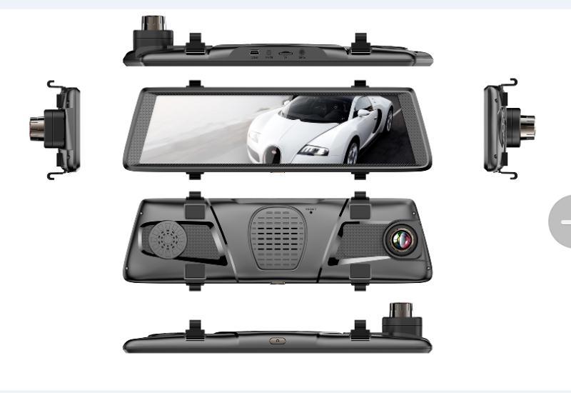 X690 streaming media rear mirror camera anti-refective digital lens full screen
