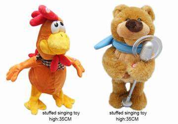 Musical Singing Plush Toys For Childrens