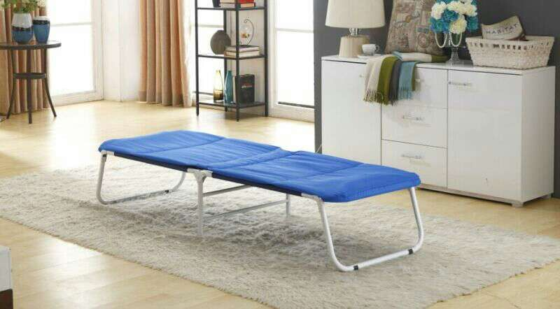 Lightweight camping folding bed