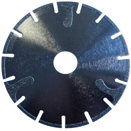 Electro plated diamond blade