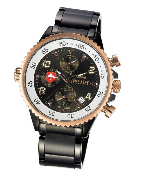 Army stainless steel wrist watch