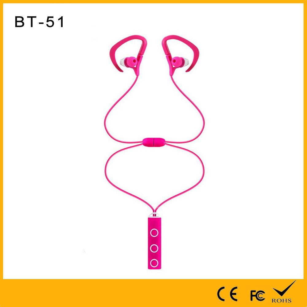 Golden Supplier with Factory Made Necklace and Noise Cancelling Sport Bluetooth Earphone with Magnet